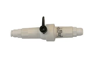 Manual Flushing Valve -  Flow Rate: 450 ml/Min. -  for Travel/Aqua 380 FM