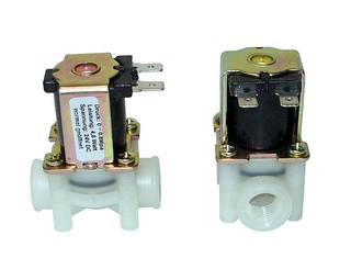 Solenoid Valve - 24 V DC, normally open, 1/4 inch inner thread