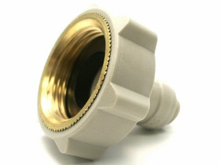 Female Thread Adapter, flat -  1/4 inch Tube x 3/4 inch BSP(P)