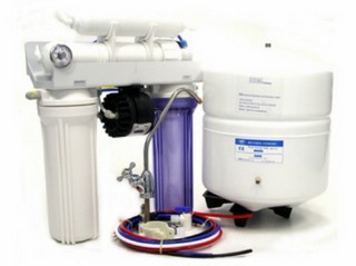Reverse Osmosis Unit Type Chic4 P -  380 Litres per Day -  Permeat Pump (currentless) -  4 stage