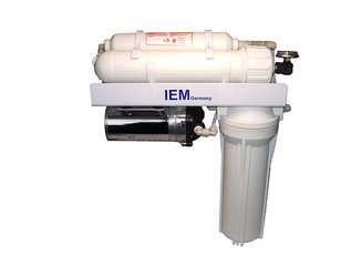 Reverse Osmosis Unit Type Aqua Profi Deluxe - 380 Litres per Day with 50% Recovery with Resin Filter !