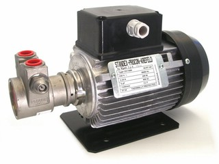 Vane Pump Stainless Steel - Capacity 532 LPH -140 GPH - max. Discharge Pressure: 17 bar 250 psi