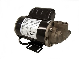 Canned Motor Pump -  Default Settings: -  Working Pressure: 175 psi -  Relief Valve Pressure: 225 psi -  Voltage: 230 V AC -  Flow: 140 GPH -  Frequency: 50/60 Hz