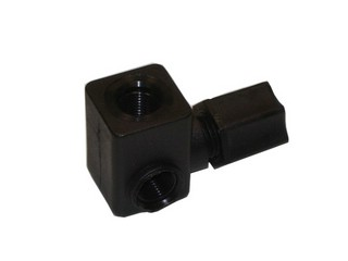 Special Connector for Pressure Gauges -  1/8 inch x 1/8 inch x 1/4 inch